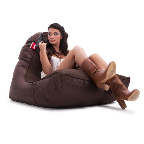 pimp v i p bean bag sofa choc o holic brown bags. Black Bedroom Furniture Sets. Home Design Ideas